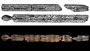 11.600 Yıllık Ahşap Heykeller İnceleniyor