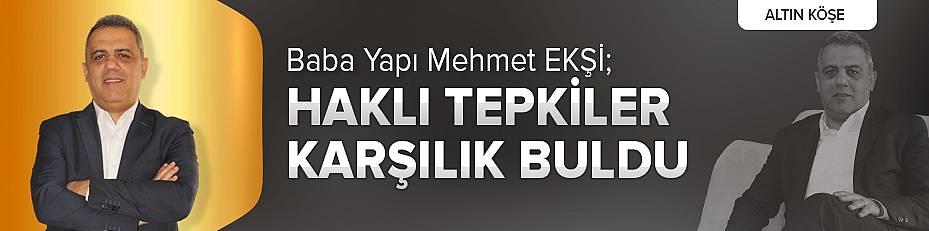 Mehmet Ekşi; Haklı Tepkiler Karşılık Buldu