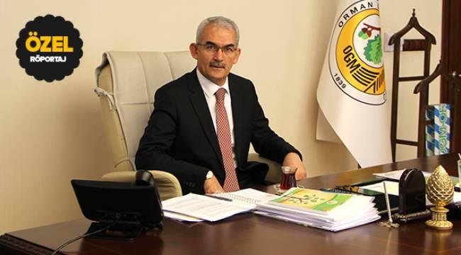 OGM Müdürü Bekir Karacabey Ahşap Global'e Konuştu