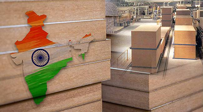 Hindistan Kontrplak'tan MDF'ye Dönüyor
