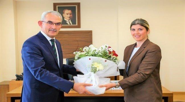 Orköy Daire Başkanı Görevine Başladı