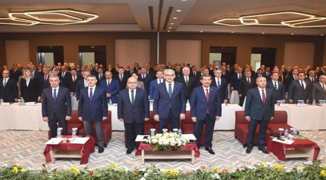 Orman Genel Müdürlüğü 2019 Yılı Değerlendirme ve İstişare Toplantısı Antalya'da Başladı