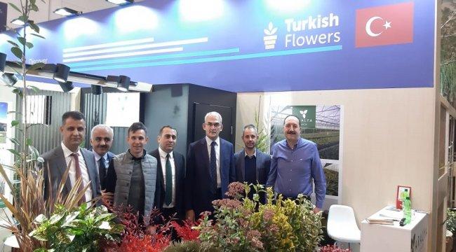 Fidancılık Sektörümüz Almanya'daki Uluslararası Çiçekçilik, Peyzaj ve Bitki Fuarında Yerini Aldı