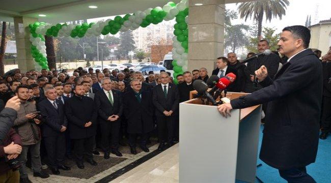 Sayın Bakanımız Antalya Yangın Eğitim Merkezinin Açılışına Katıldı