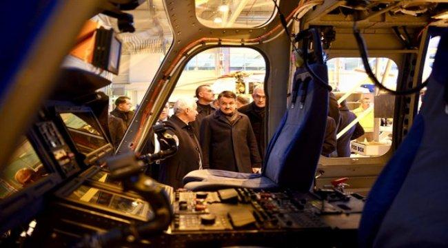 Sayın Bakanımız ve Genel Müdürümüz Türk Havacılık Uzay Sanayii'ni Ziyaret Ettiler