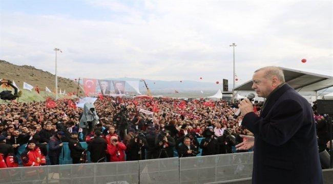 Sayın Cumhurbaşkanımız Recep Tayyip Erdoğan, İzmir Menemen'de Orman Müjdeleri Verdi