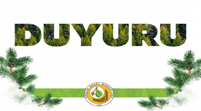 E-Satış İhaleleri Hariç Olmak Üzere Oduna Dayalı Orman Ürünleri İhaleleri İptal Edildi
