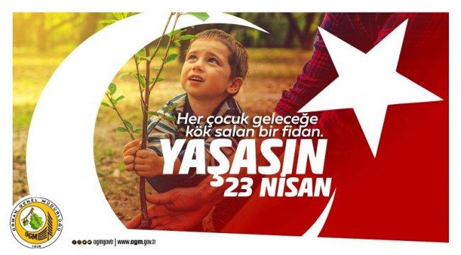 23 Nisan Ulusal Egemenlik ve Çocuk Bayramı ve Türkiye Büyük Millet Meclisi nin Açılışının 100. Yıl Dönümü Kutlu Olsun.