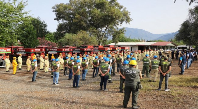 İş Başı Eğitimlerini Alan Ateş Savaşçıları Yangınla Savaşmaya Hazır!