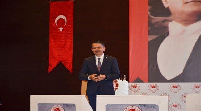 Bakanımız Sayın Pakdemirli ve Genel Müdürümüz Sayın Karacabey'den Konya Ziyareti