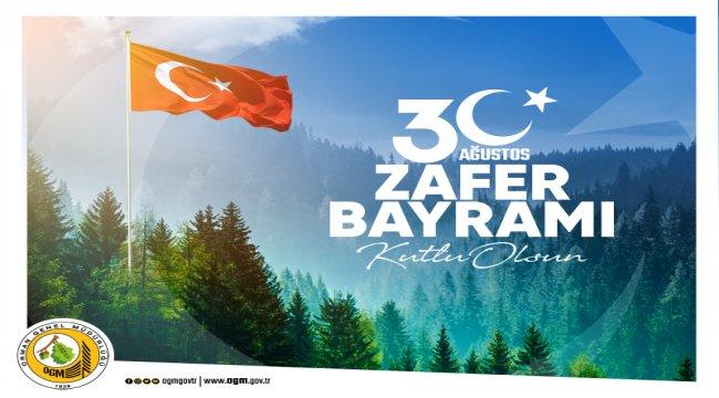 30 Ağustos Zafer Bayramı Kutlu Olsun.