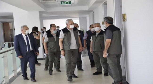 Genel Müdürümüz Ankara Orman Bölge Müdürlüğü Yeni Hizmet Binasını Ziyaret Etti